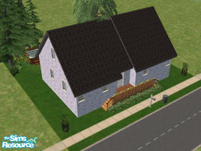 Sims 2 — 10 Danbury Court by Cali95678 — Small Starter home with skills. Small garden in the back with outdoor hot tub.