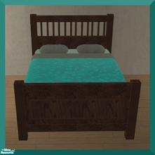 Sims 2 — Ikea Inspired Hemnes Bedroom RC- Bed by mom_of2boyz — A recolor of Ikea Inspired Hemnes Bedroom by Ricci2882, in