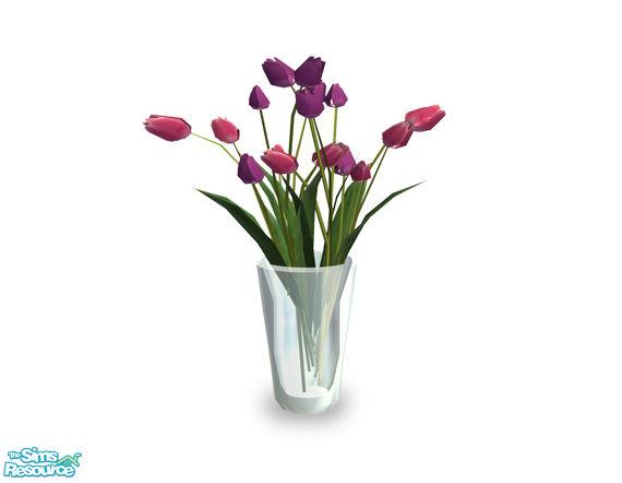 Shakeshaft S Manhattan Tulips Vase Flowers 02