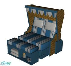 Sims 2 — Beachbed Texel - Recolor 1 by marilu —