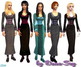 Sims 2 — fashion mix 1 by danaszy — a nice set for adult women. Mesh no requires