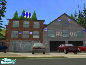 Sims 2 — 7806 Main Avenue Garage by liberty — This lot can be used to start your on home businesse. It has a double