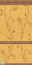 Sims 2 — Star-Vine walls and carpet-2 by katalina — Delicate vines with stars in a Tuscan gold background. Enjoy!