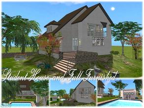 Sims 2 — Tgm-Lot-82 (Student Home) by TugmeL — This house perfect for college students and full furnished! Please