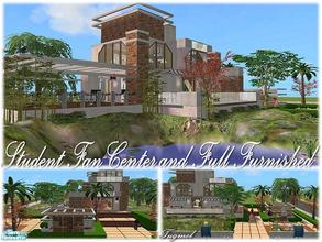 "Sims 2 — Tgm-Lot-84 (Community) by TugmeL — Entertainment center for college students!! **Please ""Installation"