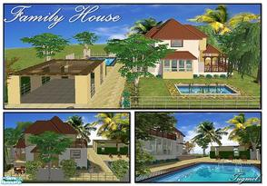 Sims 2 — Tgm-Lot-10a (Unfurnished) by TugmeL — Only Sims-2 and partly furnished!! Additional packages are ready for the