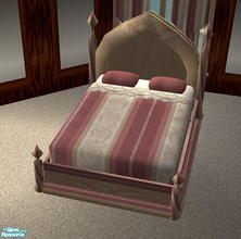 Sims 2 — Canterbury Bedroom - Rosey - double bed by ead425 —