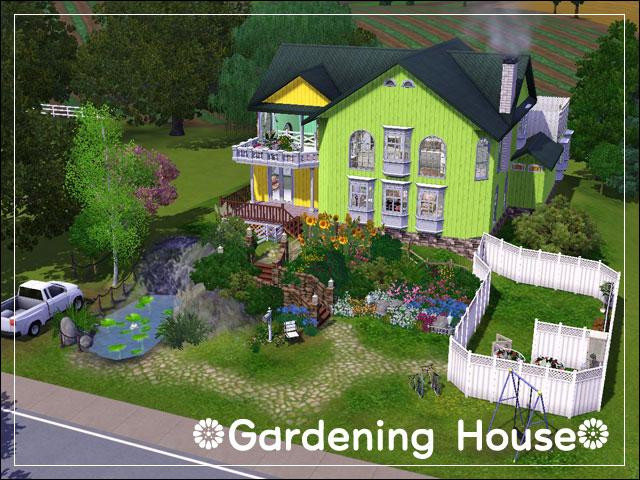 Minga tsr 39 s gardeninghouse for Indoor gardening sims 4