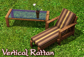 Sims 3 — Vertical Rattan by sim_man123 — Made by sim_man123 from TSR.