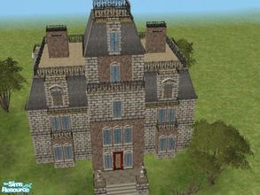 Mod The Sims - The Dark Lands - Haunted House and Tomb