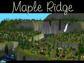 Sims 2 — Maple Ridge by cat3cm — Enjoy!