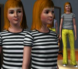 Sims 3 — Hayley Williams by -DaRk_WiZaRd- — Here is Hayley Williams of Paramore. I decided to use Hayley's classic look,