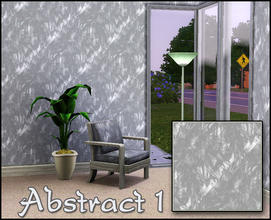 Sims 3 — Abstract 1 by sim_man123 — Abstract white and grey pattern.
