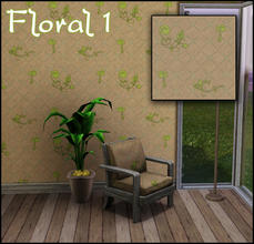 Sims 3 — Floral 1 by sim_man123 — Made by sim_man123 from TSR.