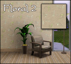 Sims 3 — Floral 2 by sim_man123 — Made by sim_man123 from TSR.