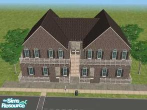 Sims 2 — Broadway by KatieKing — 4 apt. units on size 30x30 lot. 2 bedrooms, 1 bath in each unit with a living room,