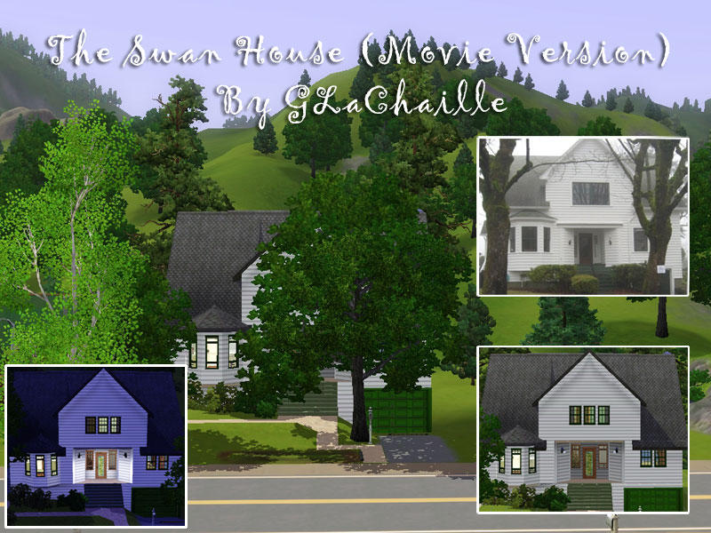 Glachaille 39 S Swan House From Twilight Movie Version