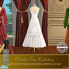 Sims 2 — Vanity Fair Sewing Room - Dressform003 Mesh by Cashcraft — A favorite pastime for Victorian Ladies--sewing! Part
