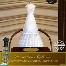Sims 2 — Vanity Fair Sewing Room - Small Dressform002 Mesh by Cashcraft — A favorite pastime for Victorian