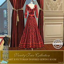 Sims 2 — Vanity Fair Sewing Room - Dressform Mesh by Cashcraft — A favorite pastime for Victorian Ladies--sewing! Part X
