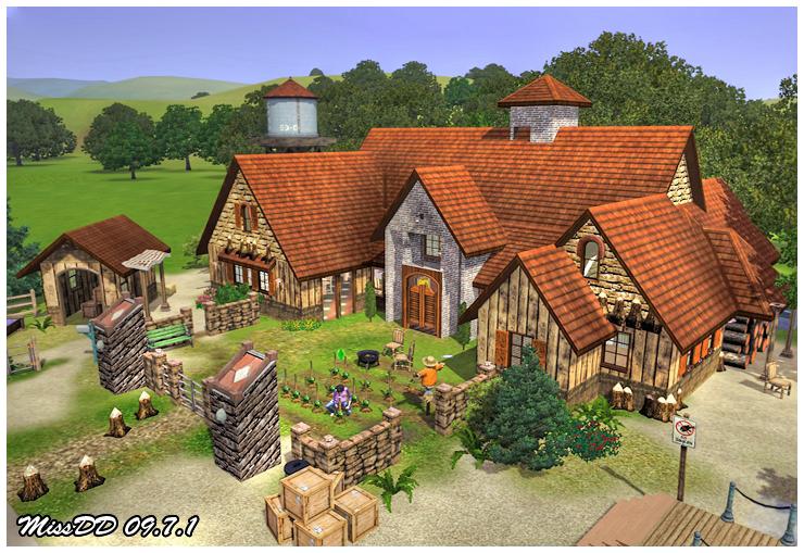Домик для фермера домик