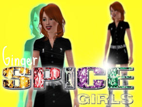 Sims 3 — Geri Halliwell by xtinabobina — Ginger Spice. Traits: Genius, Good, Good Sense of Humor, Virtuoso. Lifetime: