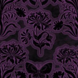 luvennos gothic flower pattern