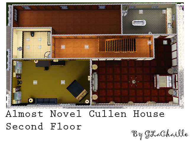Cullen House Floor Plan Sims 3