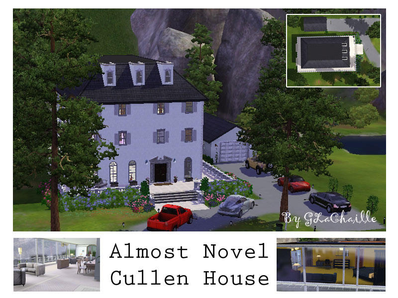 Glachaille S The Almost Novel Cullen House Based On Twilight Novel