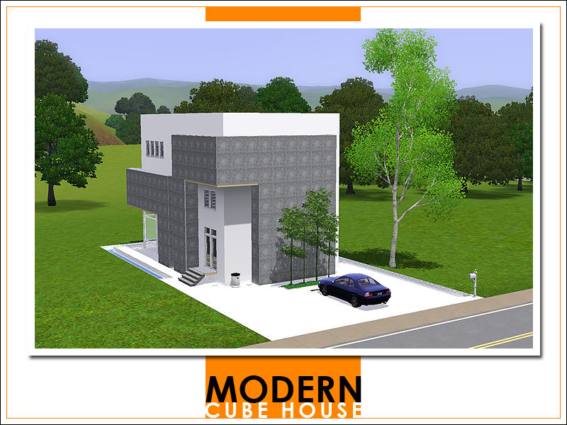 Leomo 39 s modern cube house for Modern cube house plans