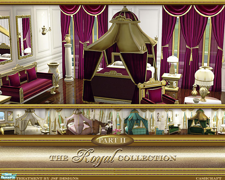 Cashcraft S Royal Collection Canopy Bed