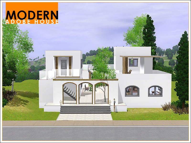 Leomo 39 S Modern Adobe House