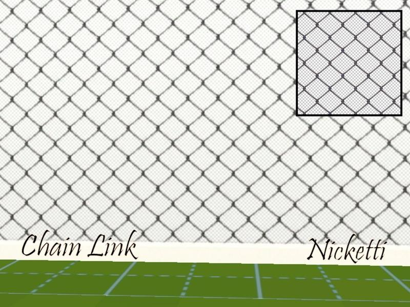 Nicketti S Chain Link Fence