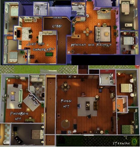The F R I E N D S Apartments