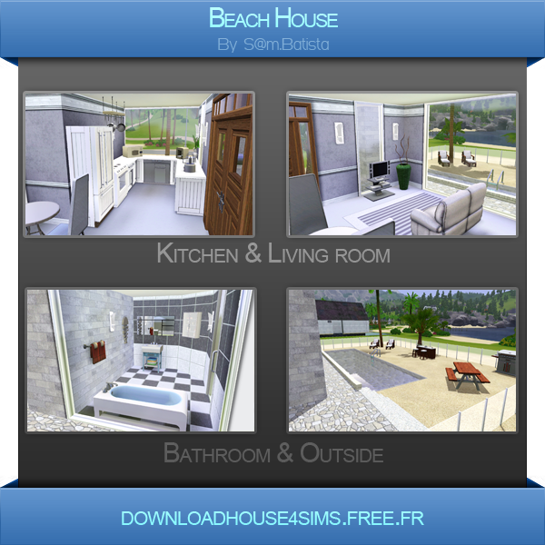 Dh4s 39 beach house for Beach house 3 free download