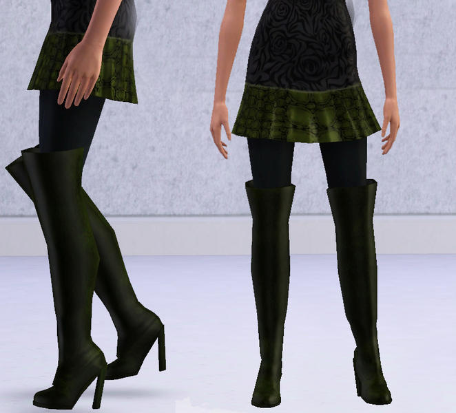 slice s ready to wear thigh high boots