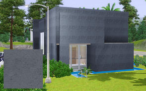 Sims 3 — Cement_01 by chouyen2002 — Cement stone pattern.