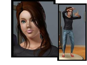 Sims 3 — Georgie August by jennygirl17 — Georgie was born to a young wealthy couple that resided in Sim City. Being