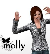 Sims 3 — Molly by hrekkjavaka — Molly, a little dizzy and maybe a tiny bit clumsy... But she's sweet natured, cute and