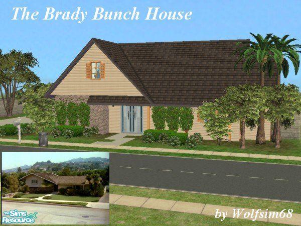Wolfsim68 S The Brady Bunch House