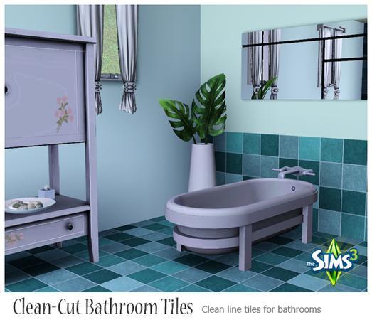 Polish Bathroom Tile: AppleFall's Clean Line Bathroom Tiles