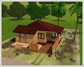 Sims 3 — Home Quiet Mojito by orig1amy — Start house ala wild west style with which I do not know, but imagine it so. In