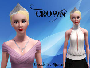 Sims 3 — Crown by Giuseppe778 — A nice crown for female teens, young adults and adults. Everyday and Formal. NOTE: You