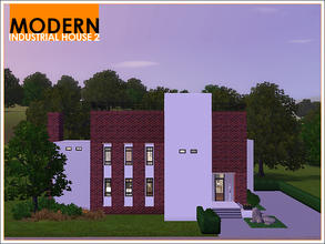 Sims 3 — Modern Industrial House 2 by Leomo — This second Modern Industrial House used to be an old factory. It has been