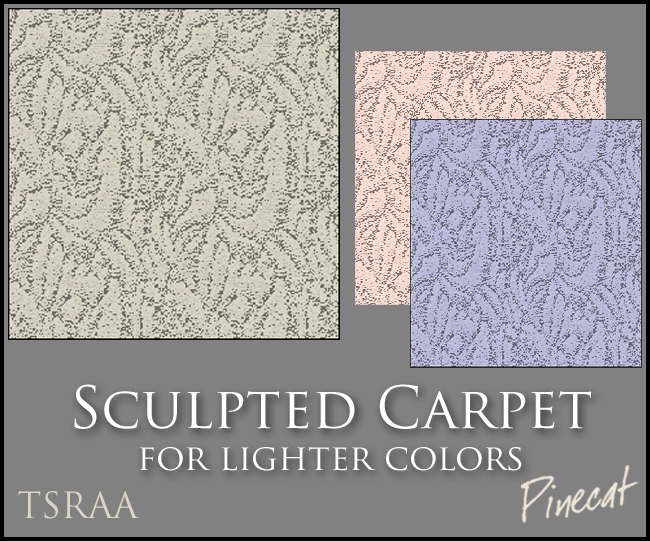 Sculpted Carpet ...