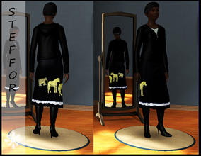 Sims 3 — skirt for an adult female by steffor — skirt for an adult female