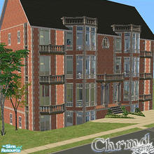 Sims 2 — The Old Manor (12 rooms) by Chrmd — The Old Manor once of a reputable family has since been converted for the