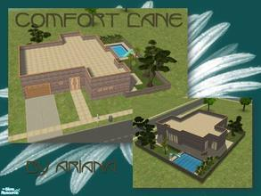 Sims 2 — Comfort Lane 101 by Ariana31Player — A medium sized house with a modern flair. Perfect for a happy family of