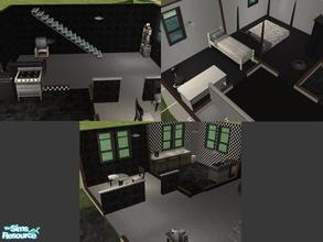 Sims 2 — Modern Estate by maja89 — All rooms are furnished except the bathroom! Very modern and stylish. Enjoy!