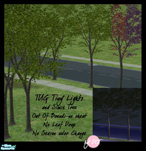 Sims 2 — Tug Out Of Bound Japanese Maple by DOT — Tug Out Of Bound Japanese Maple Tiny Lights and Maxis Tree. No Cheat.